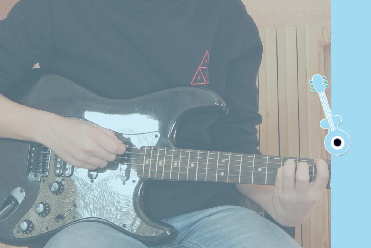 cours guitare électrique collioure