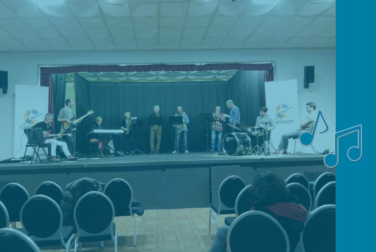 atelier d'improvisation de l'école de musique de collioure