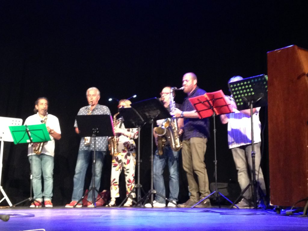 atelier improvisation gala ecole musique Collioure 2019juin